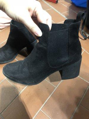 Ankle Boots von H&M schwarz