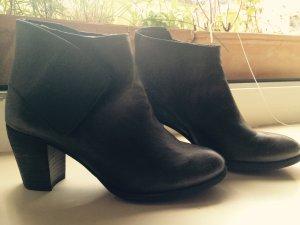 Lazamani Low boot gris anthracite-gris foncé cuir