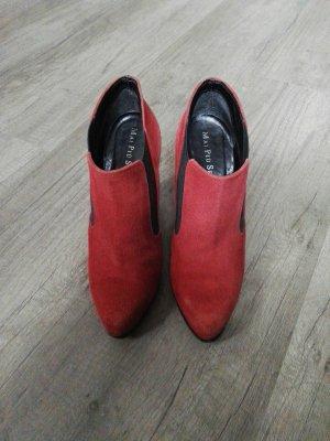 Mai piu senza Low boot rouge foncé-rouge brique