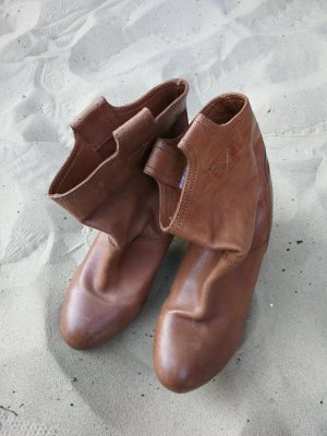 ankle boots Western style braun