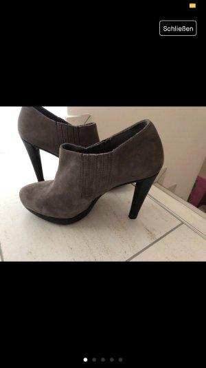 Ankle Boots wie neu!!! Wildleder