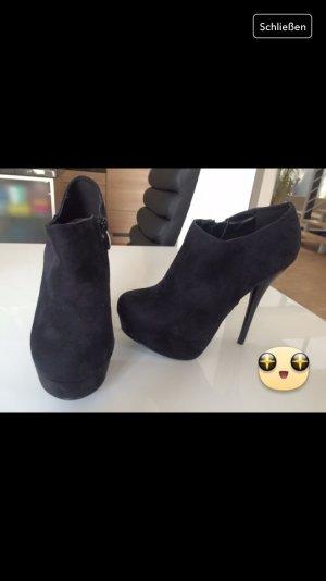Ankle Boots Wildleder, NEU