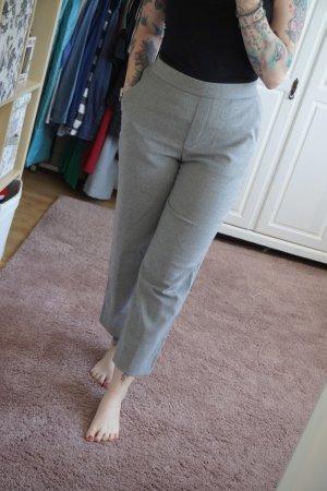 Ankle Bundfaltenhose Chino grau von Zara Größe M Fashion Blogger