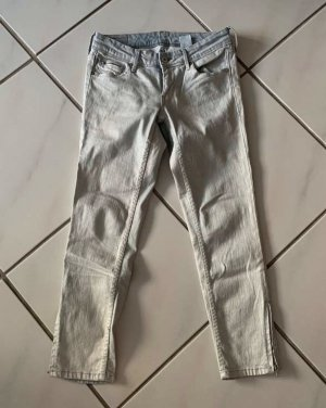 H&M Jeans a 7/8 grigio ardesia