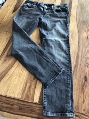 Mavi 7/8-jeans donkergrijs