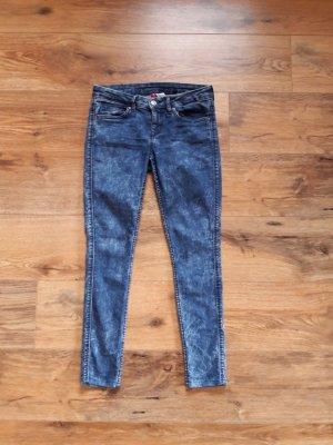 Ankle Jeans washed blau Gr. 36