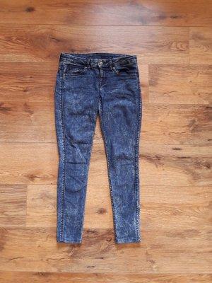 H&M Vaquero 7/8 azul oscuro-azul