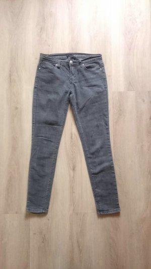 Ankle Skinny Jeans grau Gr. 25