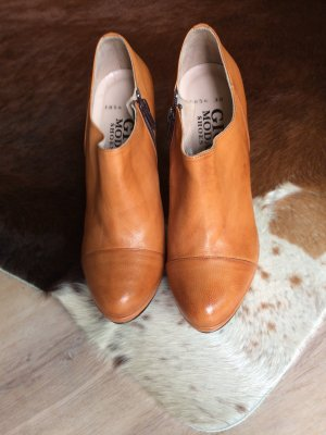 Gior M Ankle Boots cognac-coloured leather