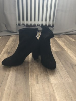 Dorothy Perkins Booties black-gold-colored
