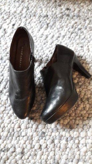 René Lezard Botas de tobillo negro Cuero