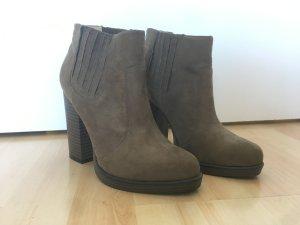 Ankleboots khaki