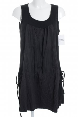 anmod Trägerkleid schwarz-weiß Beach-Look