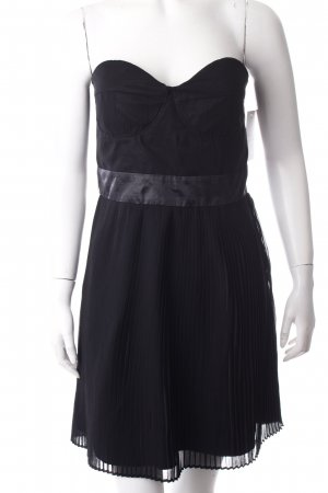 Ann Christine Bustier Dress black