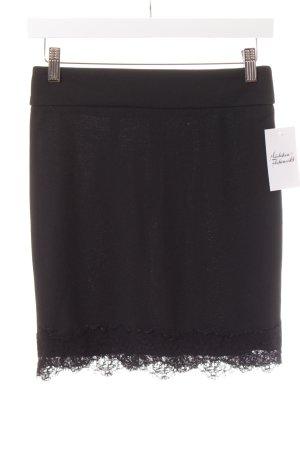 Ann Christine Minifalda negro elegante