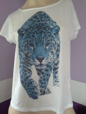 Ann Christine Shirt mit Tigerprint Gr. XS Leo Tiger