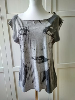Ann Christine T-Shirt light grey-grey