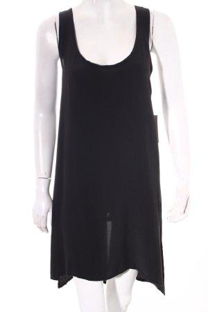 Ann Demeulemeester Shirtkleid schwarz Street-Fashion-Look
