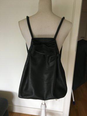 Ann Kurz Spain Shopper Rucksack Beuteltasche Leder