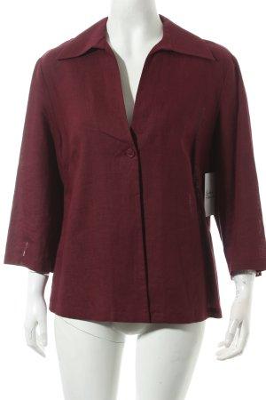 ANN LLEWELLYN Blusenjacke purpur schlichter Stil