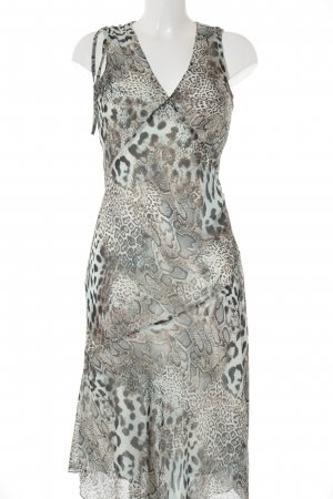 Ann LLewellyn Maxi Dress animal pattern animal print