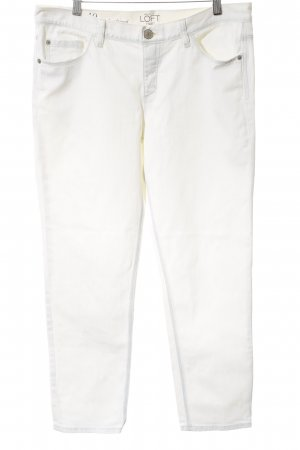 Ann Taylor Jeans boyfriend blanc cassé-blanc style boyfriend