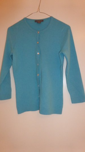 Ann Taylor Mode turquoise cachemire