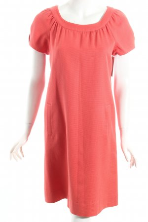 Ann Taylor Sheath Dress bright red casual look