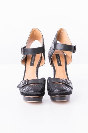 Ann Taylor High Heels black leather
