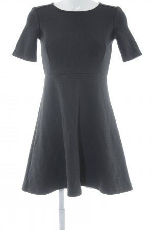 Ann Taylor Shortsleeve Dress black structure style