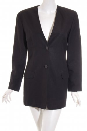 Ann Taylor Long-Blazer schwarz Business-Look