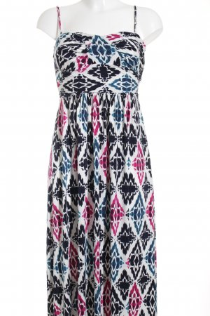 Ann Taylor Maxi Dress multicolored beach look