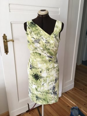 Ann Taylor Dress multicolored silk