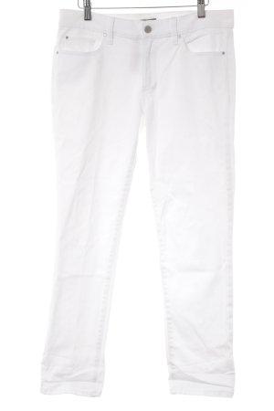 """Ann Taylor Jeans slim fit """"Boyfriend"""" bianco sporco"""