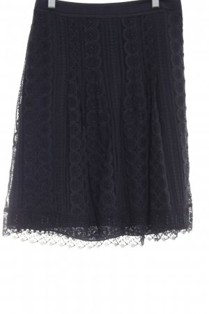 Ann Taylor Lace Skirt black casual look