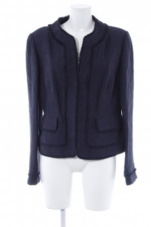 Ann Taylor Knitted Blazer dark blue Brit look