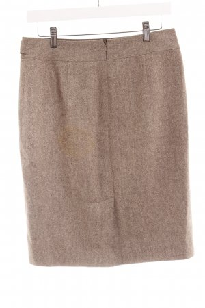 Ann Taylor Wool Skirt light brown flecked business style