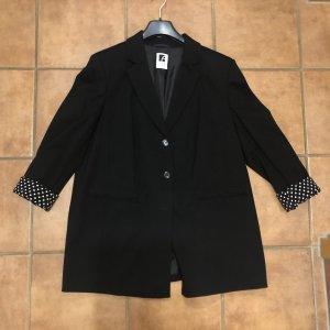 Anna Aura Jersey blazer zwart-wit