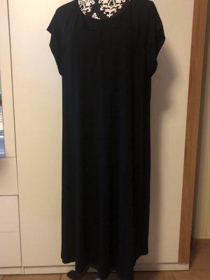 Anna Aura Midi Dress black mixture fibre