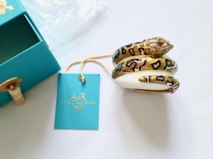 Anna dello Russo for H&M Snake Armspange GoldGelb New