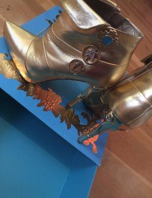 Anna Dello Russo for H&M Bottines à fermeture éclair doré