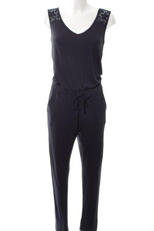 anna & ella Jumpsuit zwart casual uitstraling