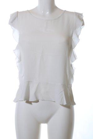 anna & ella Ruche blouse wit elegant