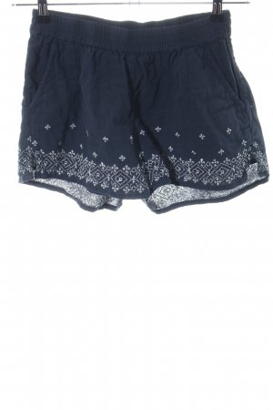 anna & ella Shorts blue-white casual look