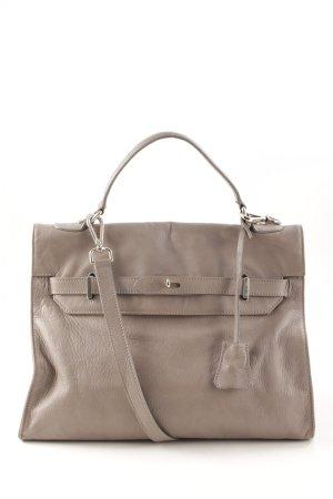 Anna F. Gekruiste tas grijs straat-mode uitstraling
