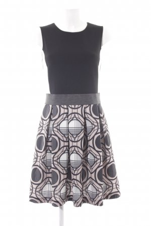 Anna Field A-Linien Kleid abstraktes Muster Casual-Look