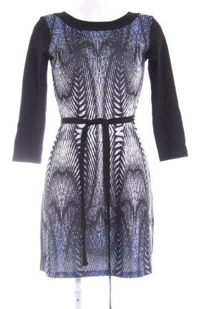 Anna Field A-Linien Kleid abstraktes Muster klassischer Stil