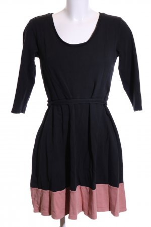 Anna Field A Line Dress black-pink casual look