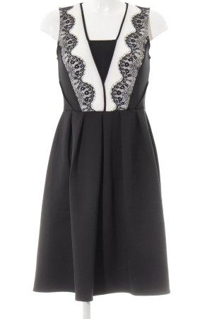 Anna Field A-Linien Kleid schwarz-weiß Elegant