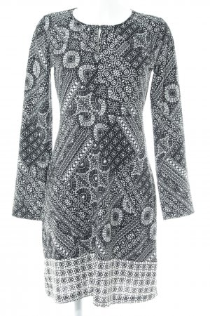 Anna Field A Line Dress black-white mixed pattern casual look